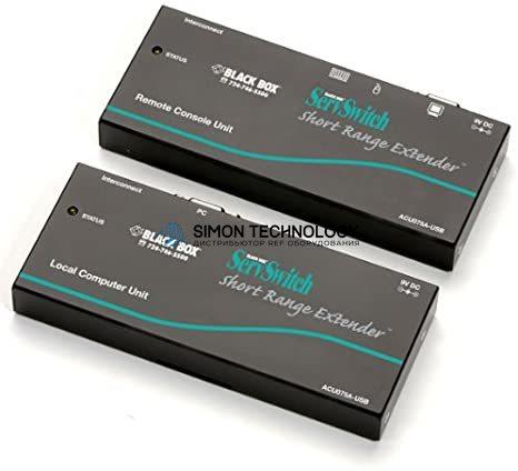Black Box KVM Extender 75 Feet USB to USB CAT5 (ACU075A-USB)