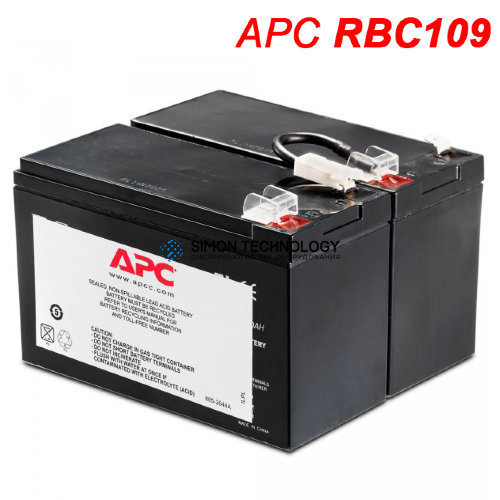 APC Replacement Battery Cartridge #109 - Batterie 9.000 mAh - Blei (APCRBC109)