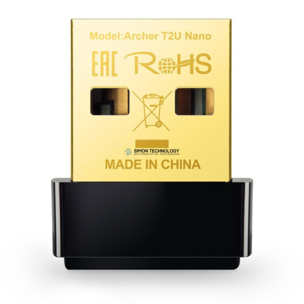 Адаптер TP-Link TP-Link Archer T2U Nano 2.4 GHz, 5 GHz (ARCHER T2U NANO)