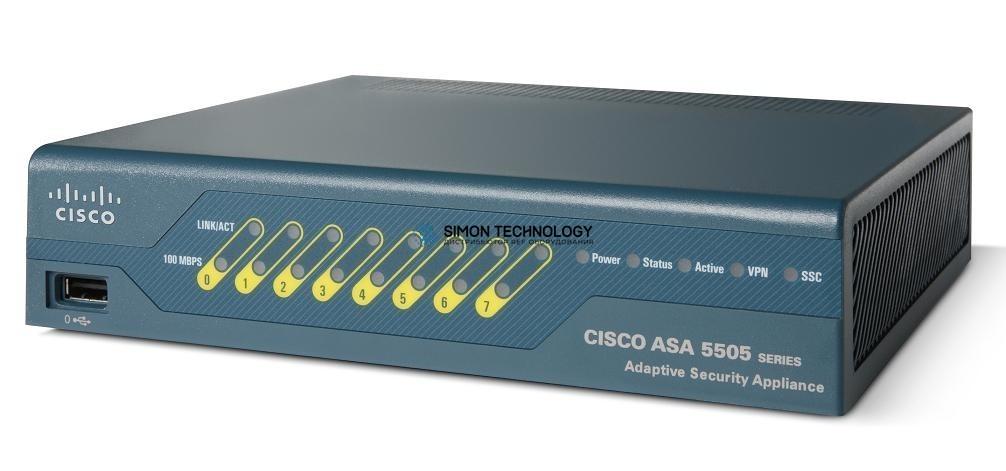 Cisco ASA 5505 VPN Edition w/ 10 SSL Users, 50 FW Users, 3DES/AES (ASA5505-SSL10-K9)
