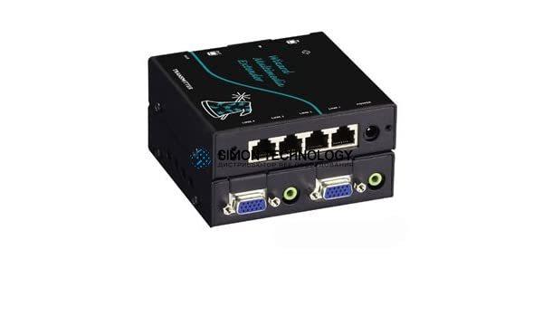 Wizard MM Extender & Splitter - VGA audio 300m (AVU5004A)