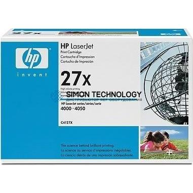 HP 27X - Tonereinheit Original - Schwarz - 10.000 Seiten (C4127X)