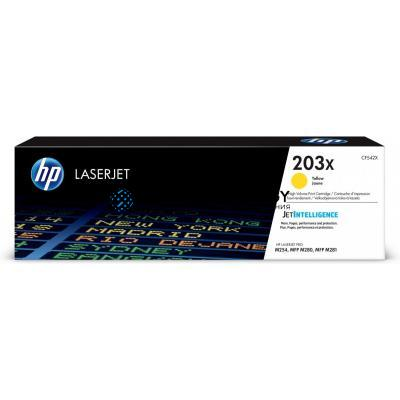 HP 203X Gelb Original LaserJet-Tonerkartusche mit hoher Reichweite (CF542X)