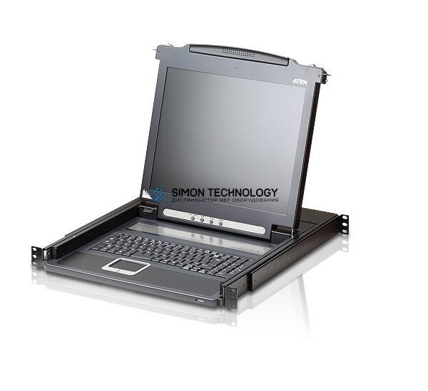 "Aten 17"" LCD Console (USB - PS/2 VGA) France (CL1000M F)"
