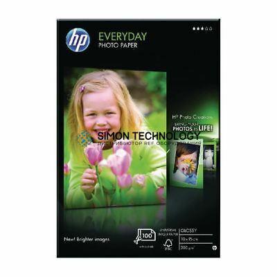 HP Everyday Photo Paper Foto-Papier - 200 g/m? - 100x150 mm - 100 Blatt (CR757A)