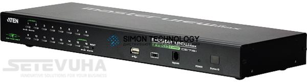 Aten Aten 16-Port USB - PS/2 VGA KVM Over IP Switch (CS1716I-AT-G)