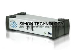Aten 2-Port USB 3.1 Gen 1 DisplayPort 1.1 KVMP (CS1912-AT-G)
