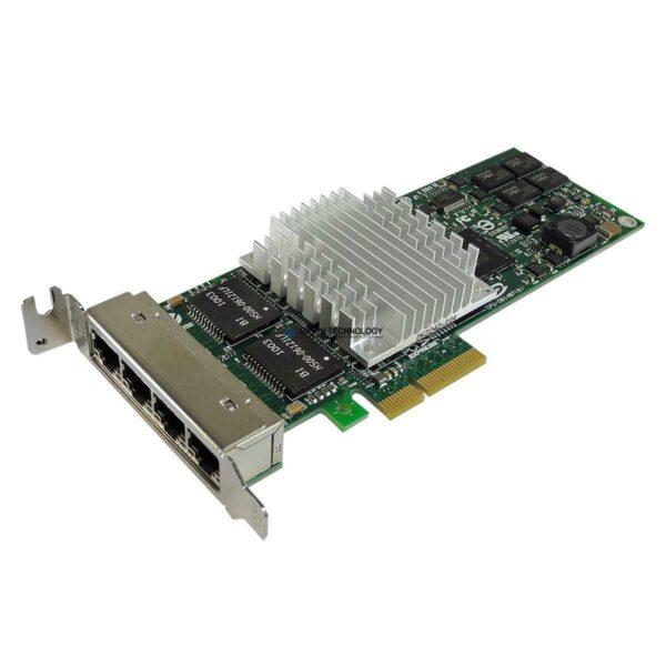 Сетевая карта Intel PRO/1000 PT QUAD PORT LP SERVER ADAPTER PCI-E (D57995-009)