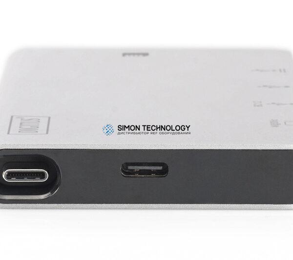 Digitus Digitus USB Type C Multiport Travel Dock 6 Port 4K (DA-70867)