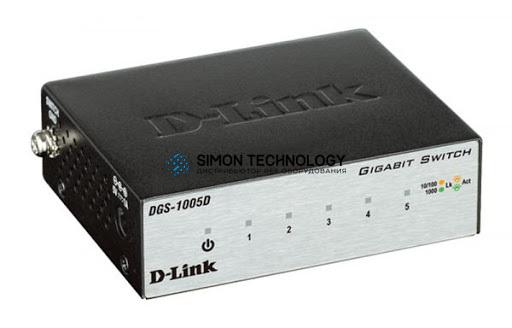 D-Link D-Link DGS 1005D - switch - 5 ports - unmanaged (DGS1005D/E)