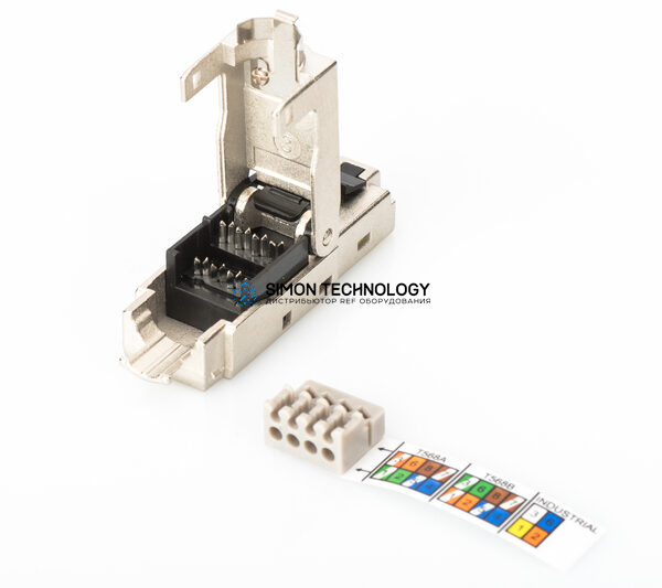 Digitus Shielded RJ45 Con tor For Field Assembly AWG 22 (DN-93631)