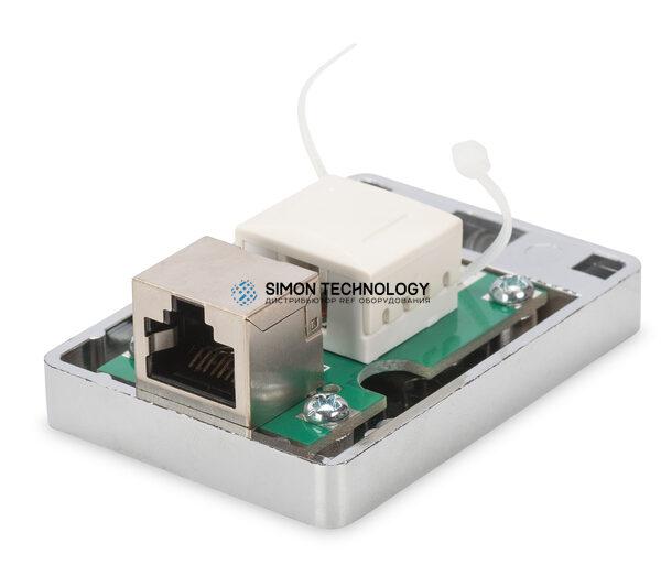 Digitus Cat6 Surface Mountbox 1x Keystone Module Shielded (DN-93710)