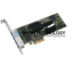 Сетевая карта Dell Dell PRO/1000 ET2 QUAD PORT PCI-E NIC (E1G44ET2BLK)
