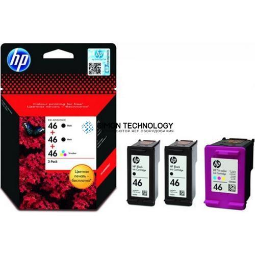 HP 46 - Tintenpatrone Original - Schwarz - 13,5 ml (F6T40AE)