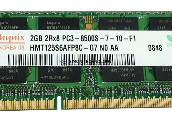 Оперативная память Hynix HYNIX 2GB 2RX8 PC3-8500S DDR3-1066MHZ SODIMM (HMT125S6AFP8C-G7)