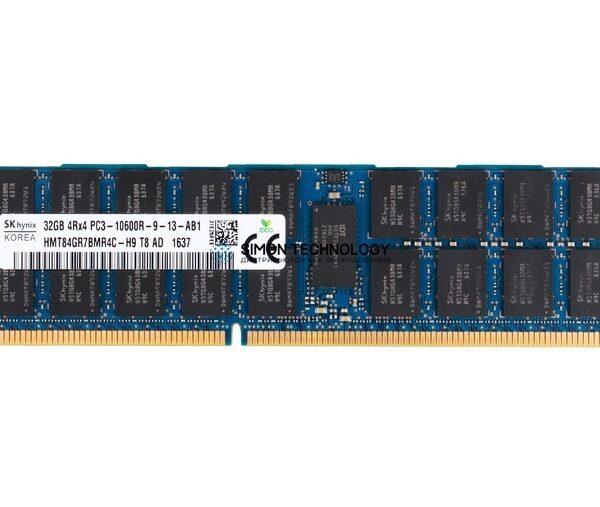 Оперативная память Hynix HYNIX 32GB (1*32GB) 4RX4 PC3-10600R DDR3-1333MHZ MEMORY KIT (HMT84GR7BMR4C-H9)