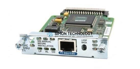 Модуль Cisco CISCO 1-Port T1/Fractional T1 DSU/CSU WAN Interface Card (HWIC-1DSU-T1)
