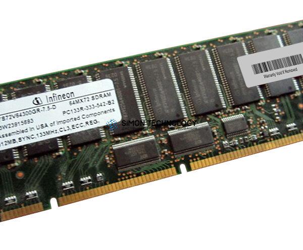 Оперативная память Compaq INFINEON 7.5-C2 512MB 168PIN PC133 MEMRY (HYS72V64300GR)