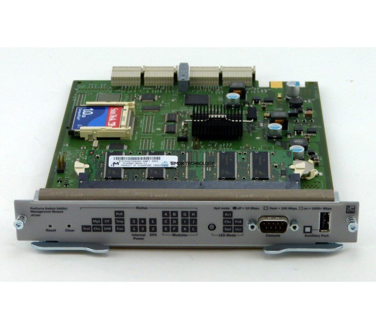 Модуль HP HP - - HP PROCURVE 5400ZL MANAGEMENT MODULE (J8726-69001)