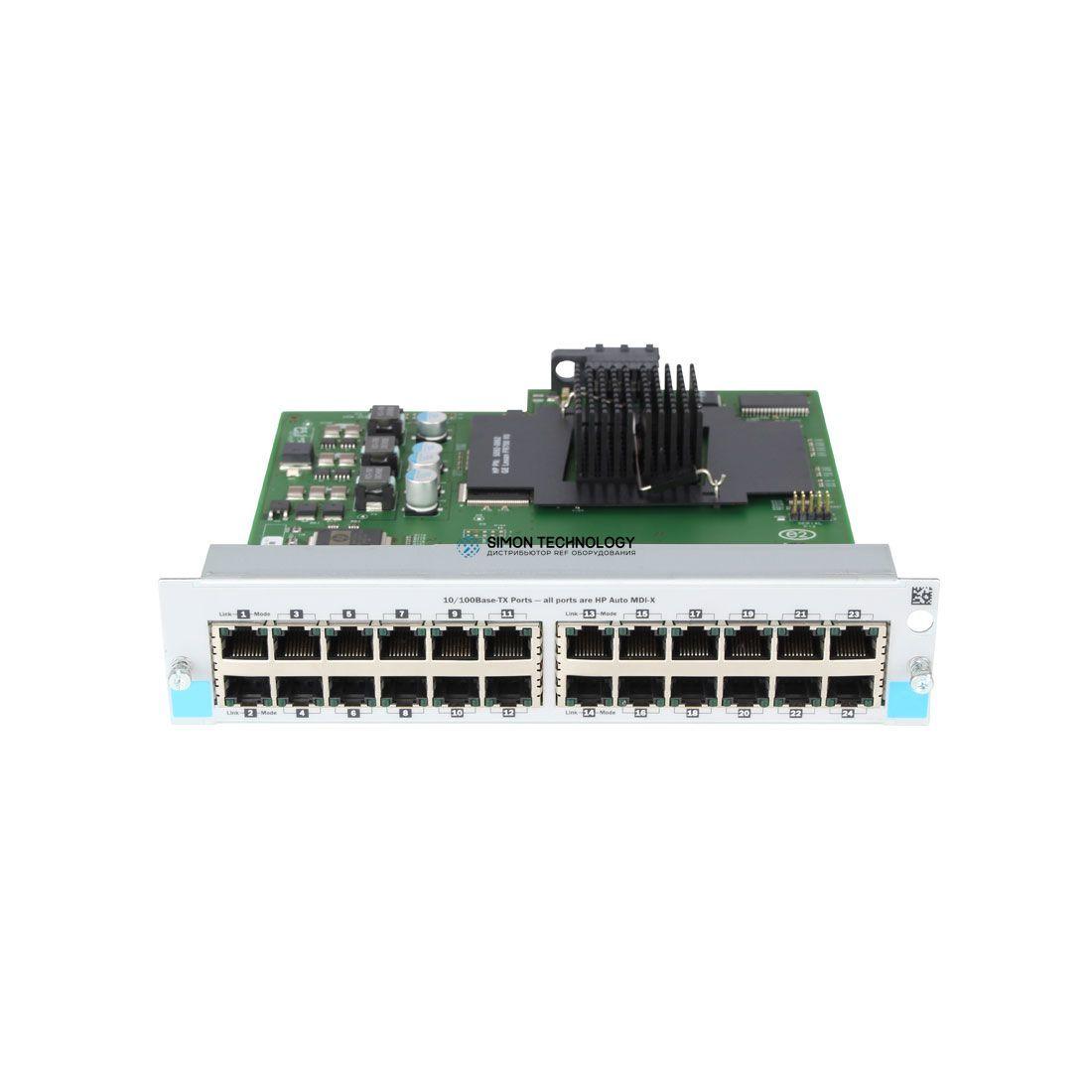 Модуль HP HP 24 Port 10/100 Switch Module (J8765A)