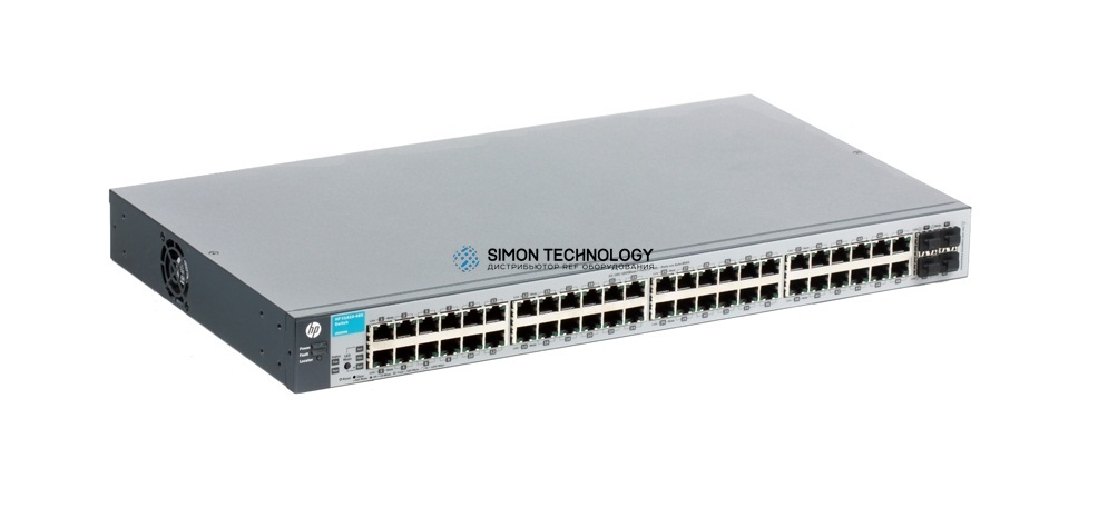 HPE HPE J9660-61001 1810-48g Switch - Switch - Managed - 48 X 10/100/1000 + 4 X Sfp. Refurbished. In Stock. (J9660-61001)