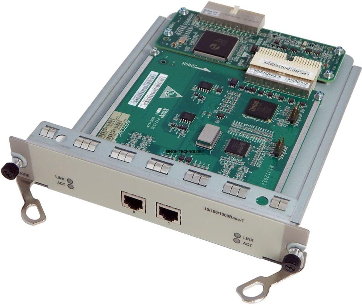 Модуль HP HPE 2-port Gig-T RJ45 FIC A-MSR Module (JF269-61201)