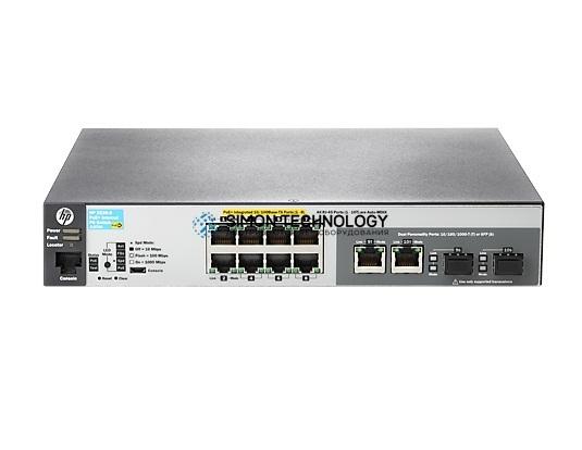 HPE Aruba Spare 2530 8 PoE+ Internal PS Switch (JL070-61001)