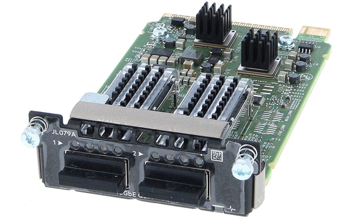Модуль HPE Aruba Spare 3810M 2QSFP+ 40GbE Module (JL079-61001)