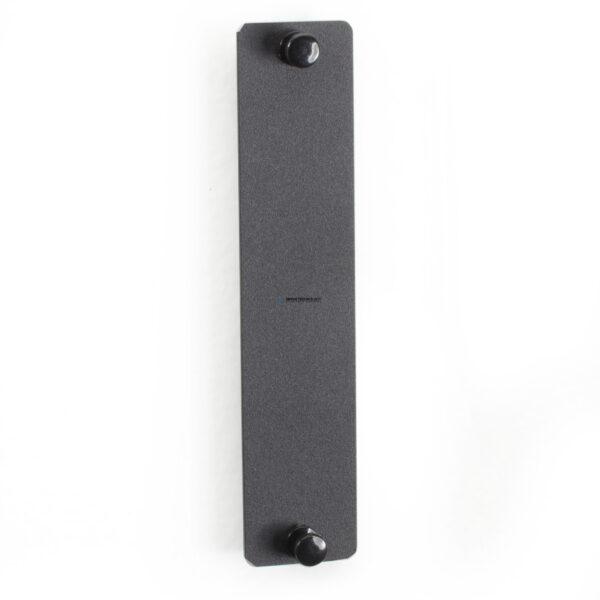 Black Box Fiber Adapter Panels - Blank Panel No Conn. Black (JPM480A)
