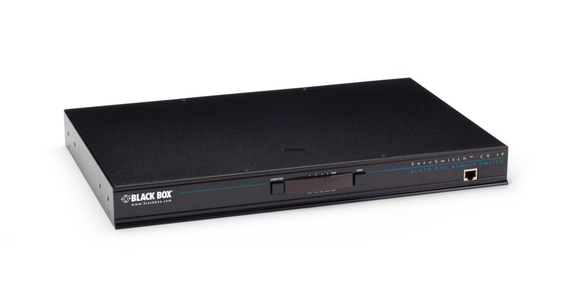 Black Box Black Box CATX KVM Switch w/ IP (KV1424A-R2)