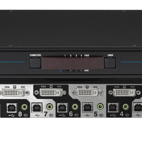 Black Box Black Box 8 Port Dual Link KVM DVI. USB + Audio (KV2008A)