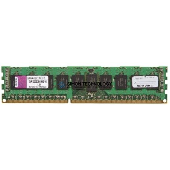Оперативная память Kingston KNGSTON 4GB (1*4GB) PC3-10600R DDR3-1333MHZ 1.5V (KVR1333D3D8RS/4GB)