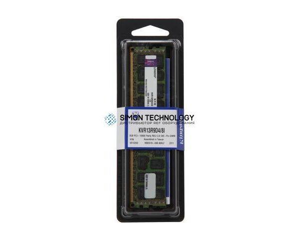 Оперативная память Kingston KINGSTON 8GB (1X8GB) 2RX4 PC3-10600R DDR3-1333MHZ RDIMM (KVR13R9D4/8I)