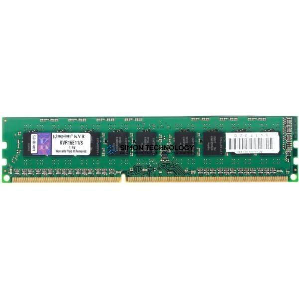 Kingston KINGSTON 8GB (1*8GB) 2RX8 PC3L-12800E DDR3-1600MHZ VLP EDIMM (KVR16LE11L/8)