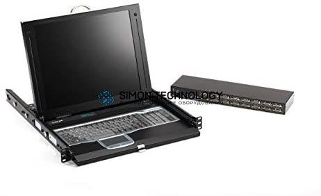 "Black Box Black Box ServTray 17"" (16 Port) VG USB/PS/2 Port (KVT417A-16UV-R2)"