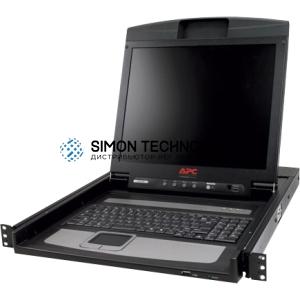 "Black Box Black Box ServTray 17"" (8 Port) VGA USB/PS/2 Port (KVT417A-8UV-R2)"