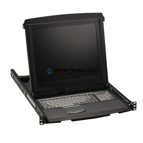 Black Box Black Box 17IN 1U LCD Tray 1 VGA.USB/PS2 Port W 1 (KVT517A-1IP)