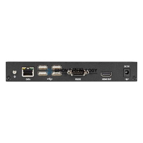 Black Box KVX Series HDMI 4K KVM Extender SH TX+ (KVXLCH-100)