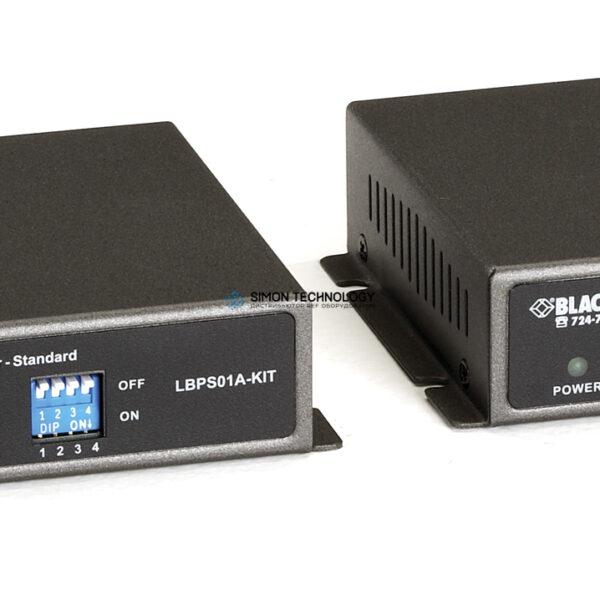 VDSL2 PoE Ethernet Extender Kit PSE - 48 VDC (LBPS01A-KIT)