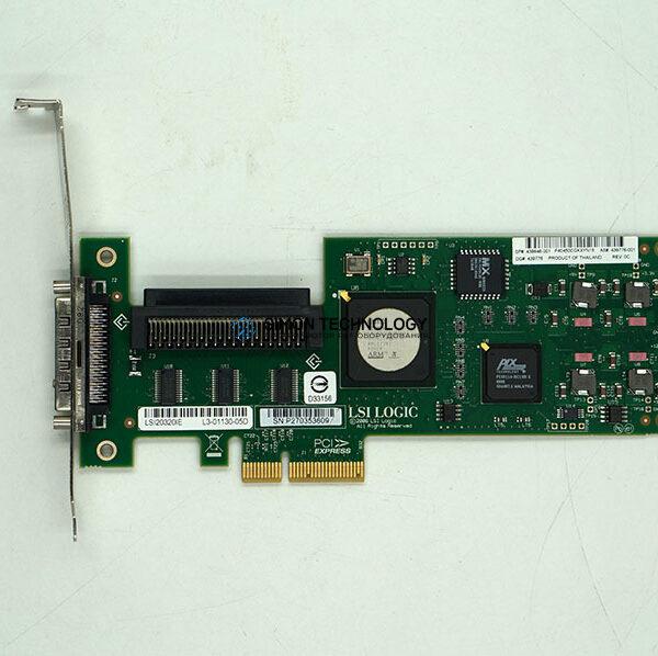 Сетевая карта LSI LSI LOGIC 20320IE U320 PCI-E SCSI ADAPTOR HIGH PROFILE BRKT (LSI20320IE-HP)