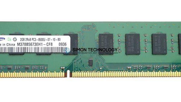 Оперативная память Samsung SAMSUNG 2GB (1X2GB) 2RX8 PC3-8500U DDR3-1066MHZ NON-ECC MEM (M378B5673EH1-CF8)