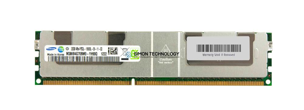 Оперативная память Samsung IBM 32GB (1x32GB, 4Rx4, 1.35V) PC3L-10600 CL9 ECC (M386B4G70BM0-YH9)