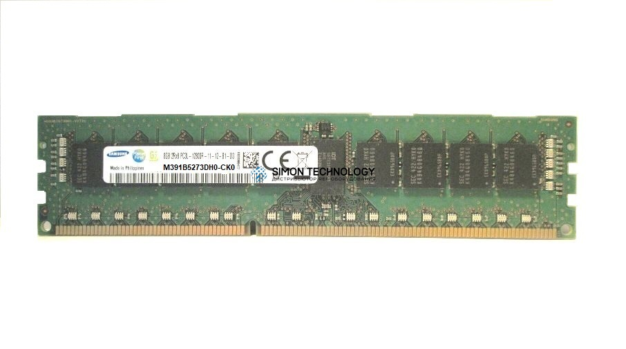 Оперативная память Samsung SAMSUNG 4GB (1*4GB) 2RX8 PC3-12800E DDR3-1600MHZ MEMORY DIMM (M391B5273DH0-CK0)