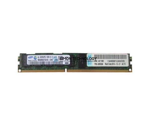 Оперативная память IBM IBM 4GB (1X4GB) PC3-10600 CL9 ECC VLP DDR3 MEMORY KIT (M392B5273CH0-CH9)