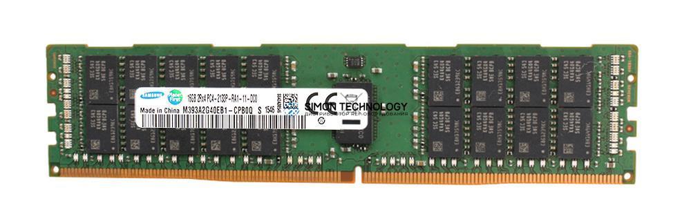 Оперативная память Samsung 16GB (1*16GB) 2RX4 PC4-17000P-R DDR4-2133MHZ RDIMM (M393A2G40EB1-CPB0Q)