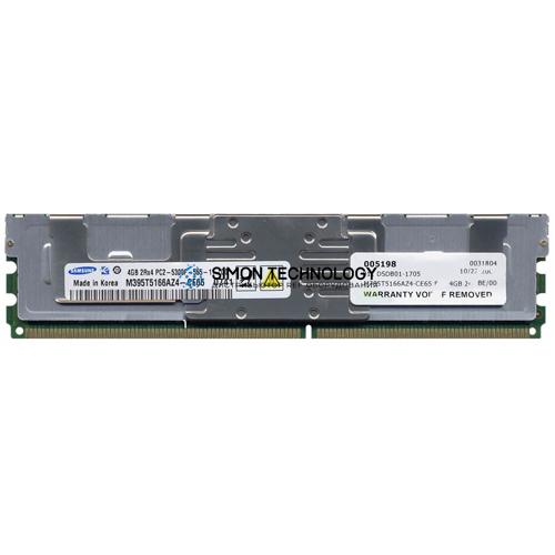 Оперативная память Samsung SAMSUNG 4GB 2RX4 PC2-5300F FUL (M395T5166AZ4-CE65)
