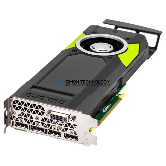 Видеокарта HP HP Grafikkarte Quadro M5000 8GB 4x DP 1x DVI PCI-E - (M9R60A)