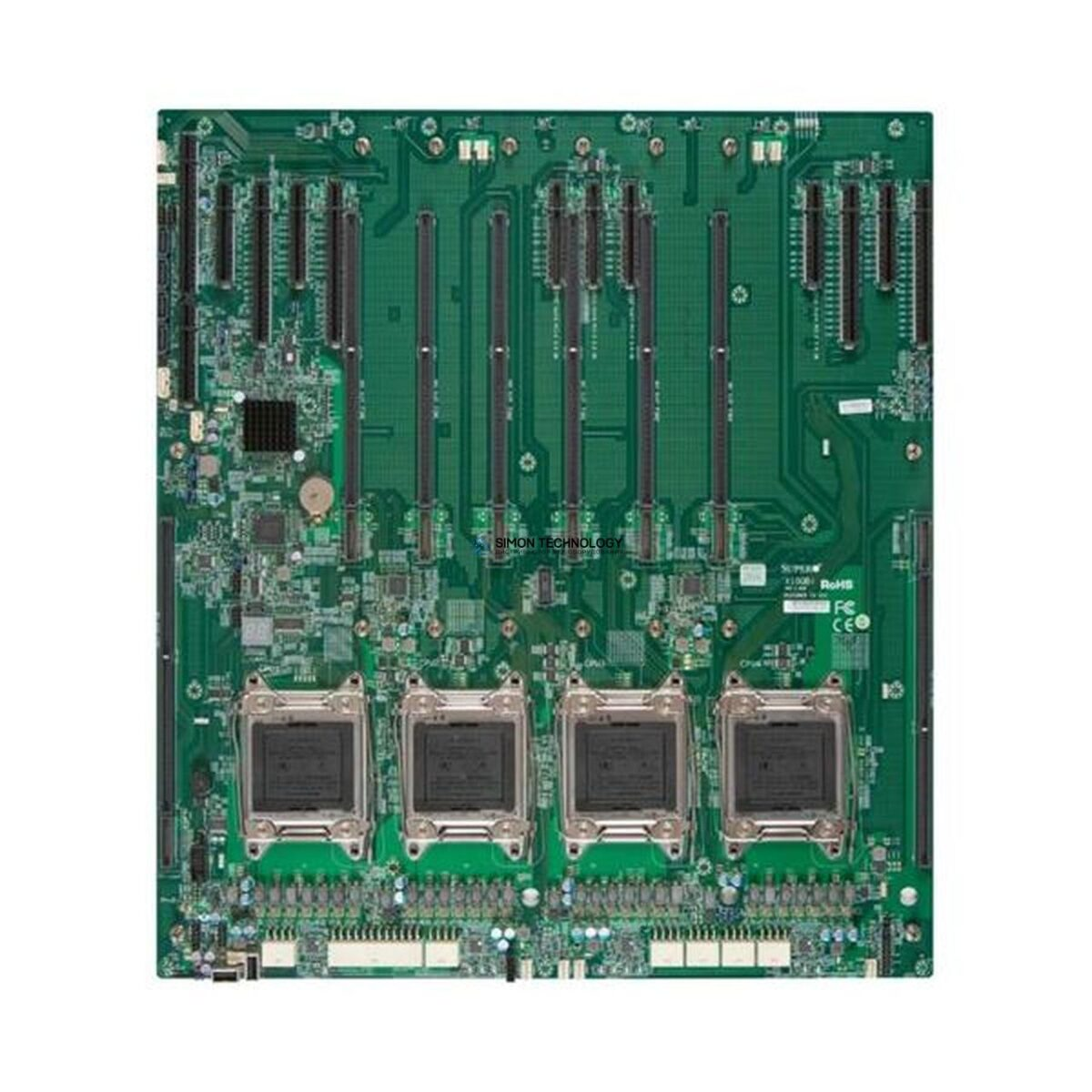 Supermicro Super Server Mainboard Rev.: 1.01a CSE-848X (MBD-X10QBi)
