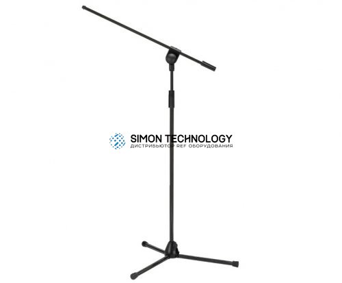 MONACOR Microphone Stand. Black. 99-225cm (MS-50/SW)