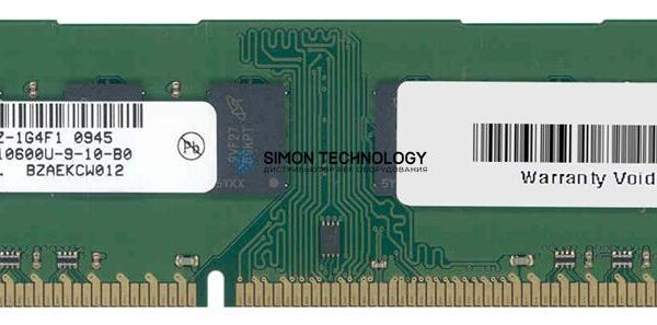 Оперативная память Micron MICRON 4GB (1*4GB) 2RX8 PC3-10600U DDR3-1333MHZ 1.5V UDIMM (MT16JTF51264AZ-1G4)
